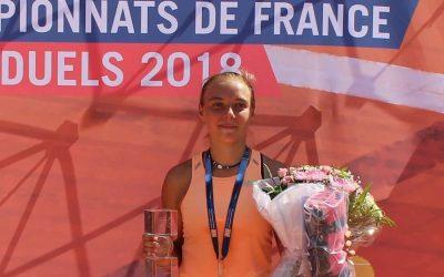 Alice double Championne de France
